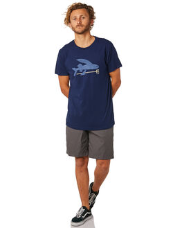 CLASSIC NAVY MENS CLOTHING PATAGONIA TEES - 39145CNY