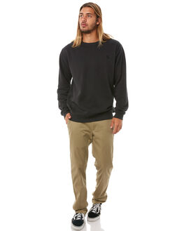 WASHED BLACK MENS CLOTHING SWELL JUMPERS - S5184449WSHBK