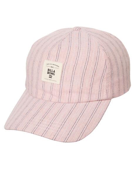 PINK BLUSH WOMENS ACCESSORIES BILLABONG HEADWEAR - 6672321APBLSH