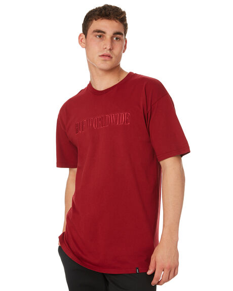TERRACOTTA OUTLET MENS HUF TEES - TS00380-TRCTA