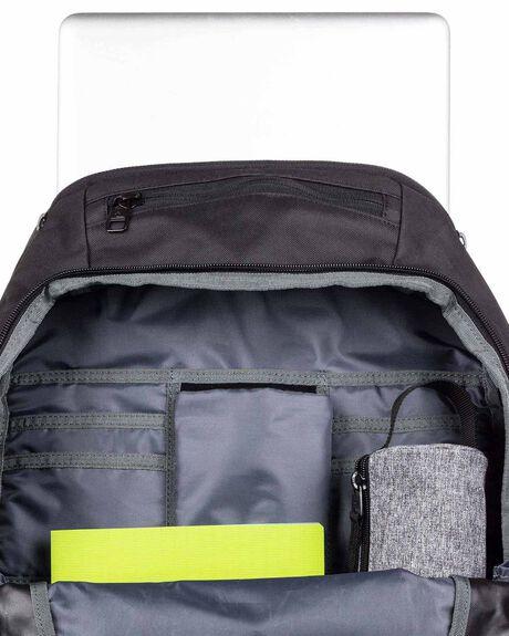 BLACK MENS ACCESSORIES QUIKSILVER BAGS + BACKPACKS - EQYBP03556-KVJ0