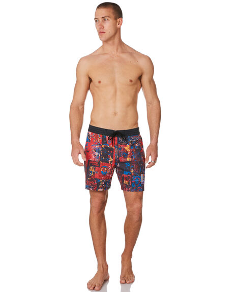 RED MENS CLOTHING MISFIT BOARDSHORTS - MT091610RED