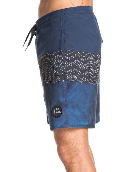 CRYSTAL TEAL MENS CLOTHING QUIKSILVER BOARDSHORTS - EQYBS04241-BRN6