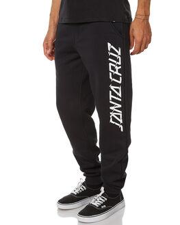 BLACK MENS CLOTHING SANTA CRUZ PANTS - SC-MFB7519BKL