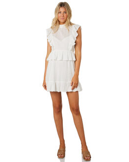 WHITE WOMENS CLOTHING MINKPINK DRESSES - MP1908475WHT