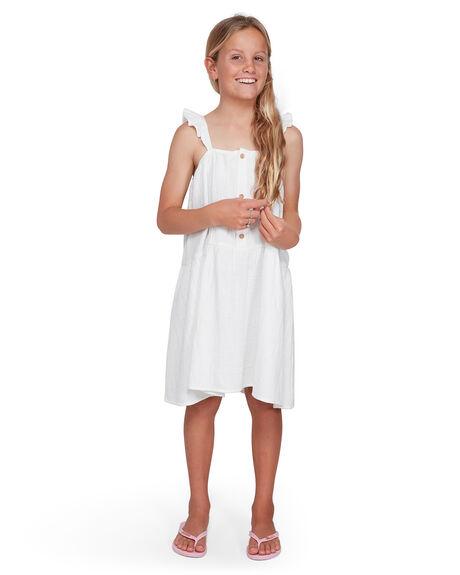 WHITE KIDS GIRLS BILLABONG DRESSES + PLAYSUITS - BB-5503461-WHT