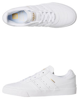 WHITE MENS FOOTWEAR ADIDAS SKATE SHOES - F34203WHT