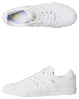 WHITE MENS FOOTWEAR ADIDAS SKATE SHOES - F34203WHT