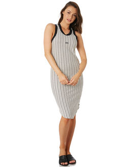 PALE IVORY OUTLET WOMENS HURLEY DRESSES - CI9808109