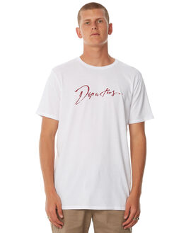 WHITE OUTLET MENS DEPACTUS TEES - D5184003WHITE