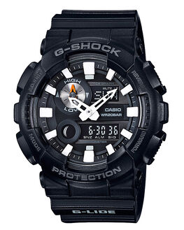 BLACK MENS ACCESSORIES G SHOCK WATCHES - GAX-100B-1ADRBLK