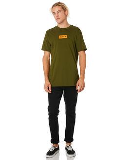 LEGION GREEN MENS CLOTHING HURLEY TEES - AJ1777331