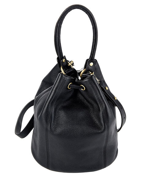 BLACK WOMENS ACCESSORIES STATUS ANXIETY HANDBAGS - SA7161BLK