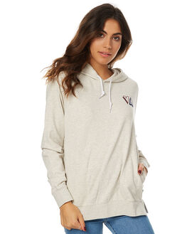 OATMEAL WOMENS CLOTHING RVCA JUMPERS - R274152AOAT