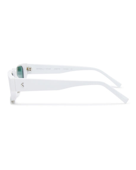 SHINY WHITE WOMENS ACCESSORIES KENDALL AND KYLIE SUNGLASSES - KK5083-101SWHT