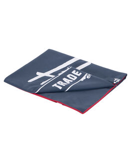 NAVY RED MENS ACCESSORIES HERSCHEL SUPPLY CO TOWELS - 10540-00018-OSNVRD