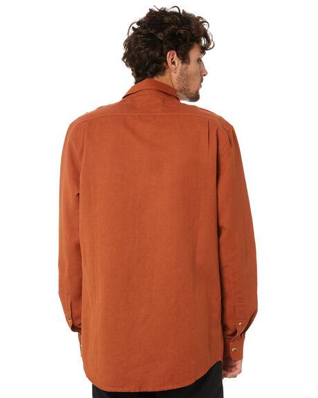 TOBACCO MENS CLOTHING DEPACTUS SHIRTS - D5204161TOBAC
