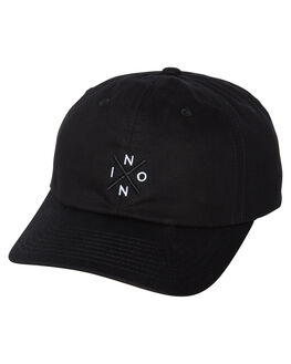 BLACK MENS ACCESSORIES NIXON HEADWEAR - C2784000