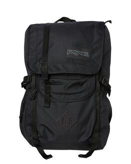 BLACK MENS ACCESSORIES JANSPORT BAGS + BACKPACKS - JS0A47J4-JS008