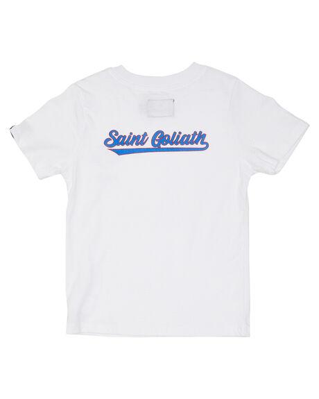 WHITE KIDS BOYS ST GOLIATH TOPS - 2850006WHT