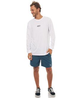WHITE MENS CLOTHING RVCA TEES - R172094WHT