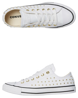 WHITE WOMENS FOOTWEAR CONVERSE SNEAKERS - 561684WHT