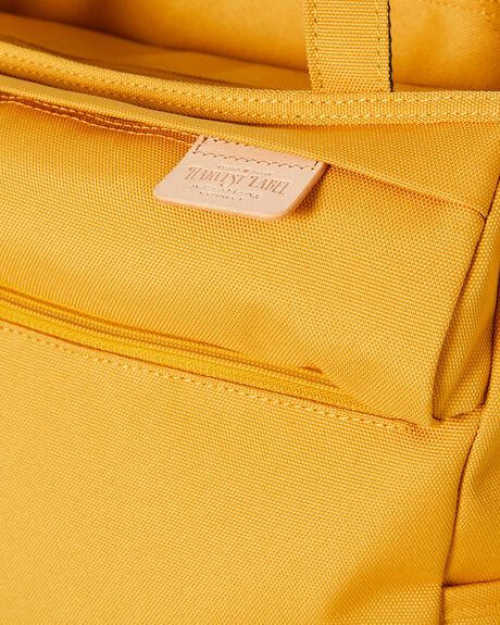 MUSTARD MENS ACCESSORIES HARVEST LABEL BAGS + BACKPACKS - HLO0952-MUS