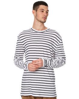 MALA STRIPE MENS CLOTHING ASSEMBLY TEES - AM-W21708MSTRP