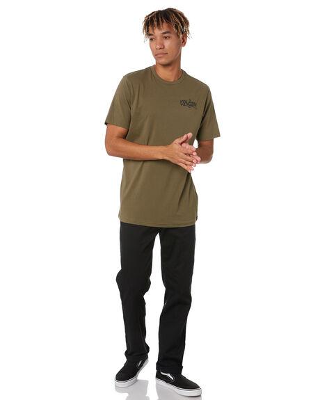 MILITARY MENS CLOTHING VOLCOM TEES - A5002016MIL