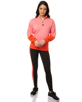 CHALK PINK WOMENS CLOTHING ADIDAS ORIGINALS JUMPERS - CE1744PNK