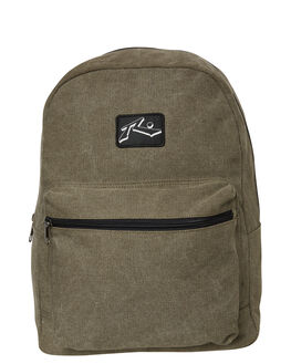 DARK ARMY MENS ACCESSORIES RUSTY BAGS + BACKPACKS - BPM0331-DARMY