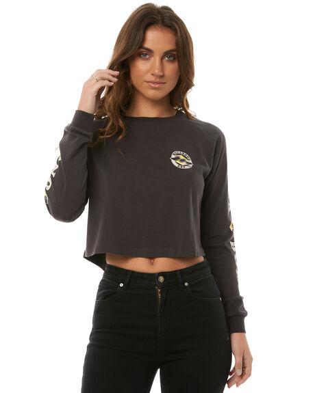 OFF BLACK WOMENS CLOTHING BILLABONG TEES - 6585071BLK