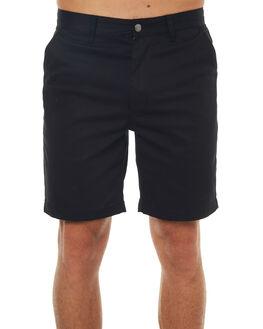BLACK MENS CLOTHING HUF SHORTS - PT00014BLK