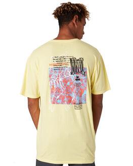 YELLOW MENS CLOTHING HUF TEES - TS00978YELLW
