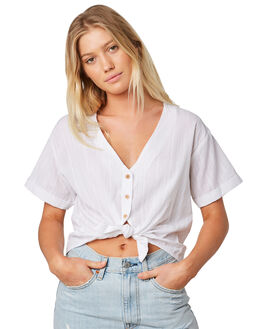 WHITE WOMENS CLOTHING INSIGHT FASHION TOPS - 5000002389WHT