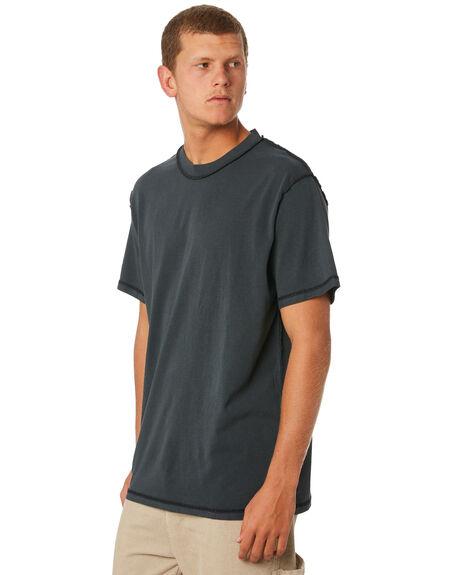 MERCH BLACK MENS CLOTHING THRILLS TEES - TW9-113MB
