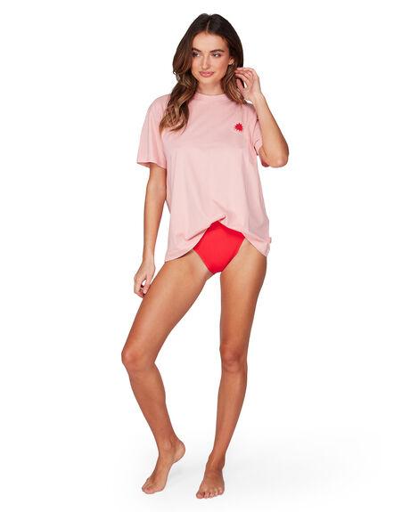 PEACHES WOMENS CLOTHING BILLABONG TEES - BB-6507004-355