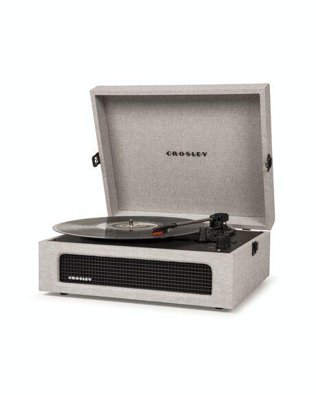 GREY MENS ACCESSORIES CROSLEY AUDIO + CAMERAS - CR8017A-GY4