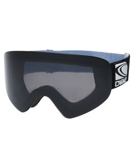 MATT BLACK GREY BOARDSPORTS SNOW CARVE GOGGLES - 6072MBLKG