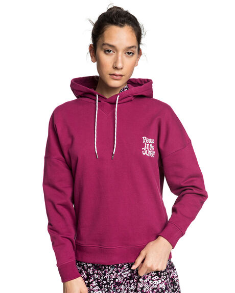 RASPBERRY RADIANCE WOMENS CLOTHING QUIKSILVER JUMPERS - EQWFT03022-MQY0