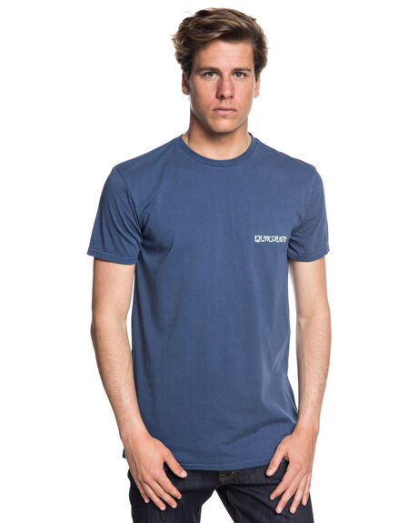 DARK DENIM MENS CLOTHING QUIKSILVER TEES - EQYZT05008BRQ0
