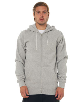 LIGHT GREY HEATHER MENS CLOTHING QUIKSILVER JUMPERS - EQYFT03562SJSH