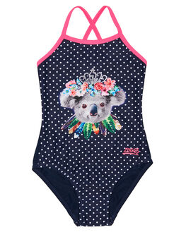NAVY KIDS GIRLS ZOGGS SWIMWEAR - 5145190NVY