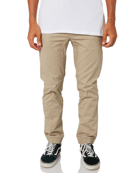 KHAKI MENS CLOTHING SWELL PANTS - S5161193KHA