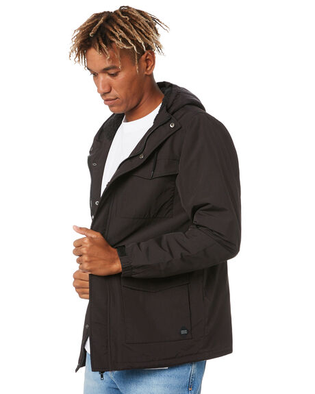 BLACK MENS CLOTHING SWELL JACKETS - S5204384BLACK