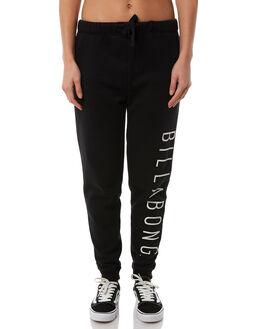 BLACK WOMENS CLOTHING BILLABONG PANTS - 6585749BLK
