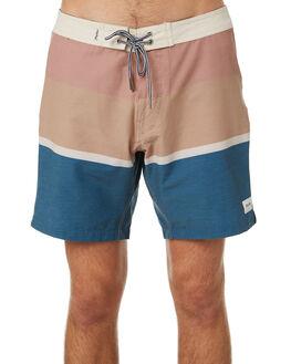 NAVY MENS CLOTHING RHYTHM BOARDSHORTS - JAN19M-TR06-NAV