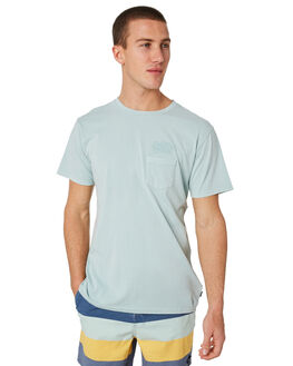 CHALK BLUE MENS CLOTHING THE CRITICAL SLIDE SOCIETY TEES - SAT1709CHALK