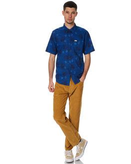 BLUE MENS CLOTHING CAPTAIN FIN CO. SHIRTS - CS172113BLU