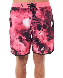 HYPER PINK BLACK MENS CLOTHING HURLEY BOARDSHORTS - 922186639